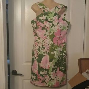 Talbots Floral Sleeveless Dress Size 14P